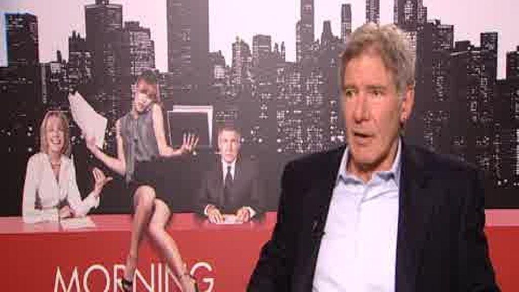 Harrison Ford visita España