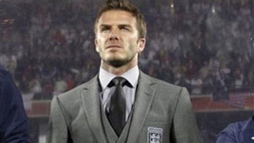 El hincha tuvo en enfrentamiento con David Beckham. Foto: AP
