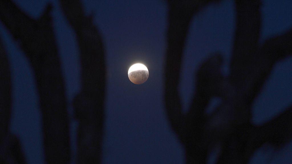 """El eclipse lunar """"de sangre"""" más corto del siglo"""