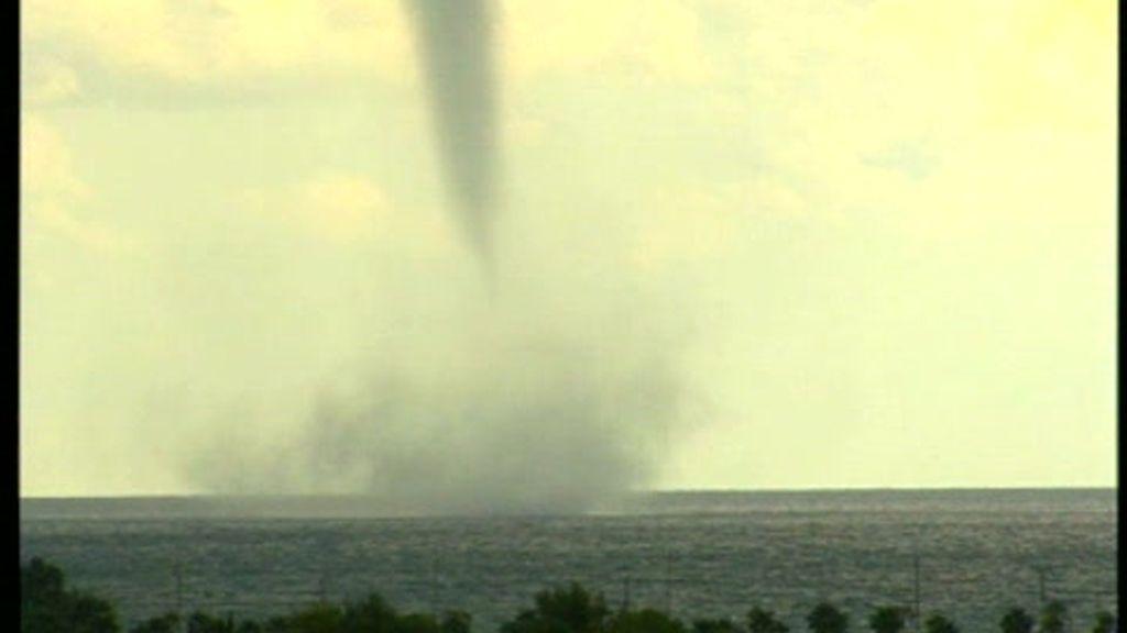 Tornado en Oropesa