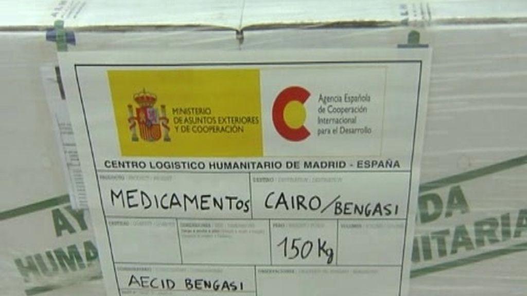 España envía un avión a Libia