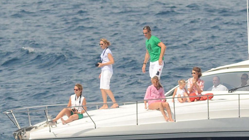 Los Duques de Palma disfrutan de sus vacaciones