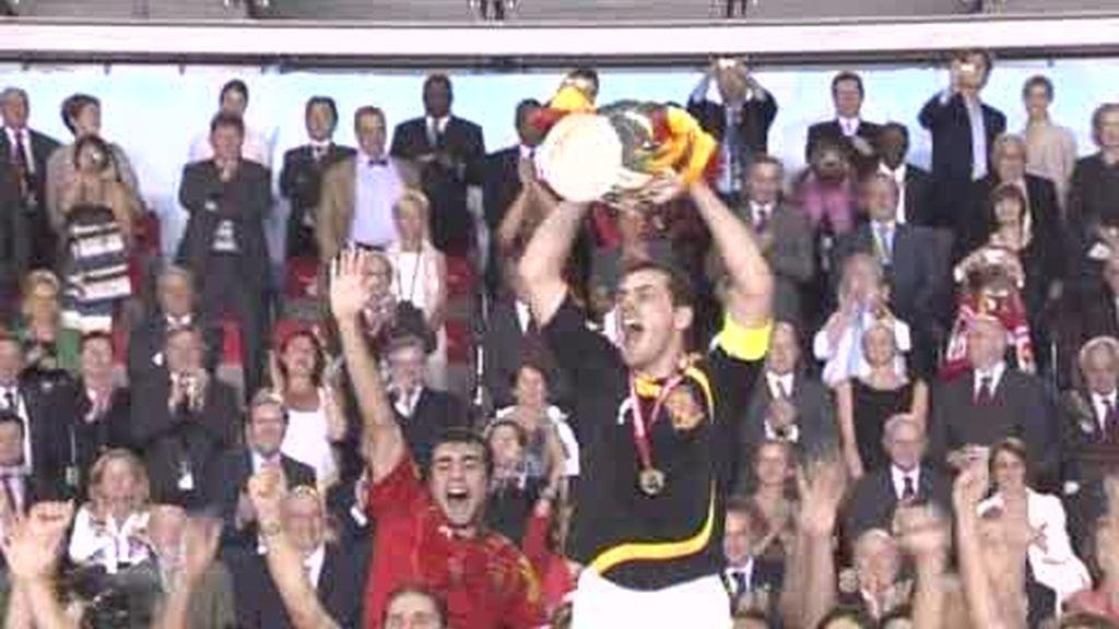 Eurocopa 2008: España, la selección que asombró a Europa