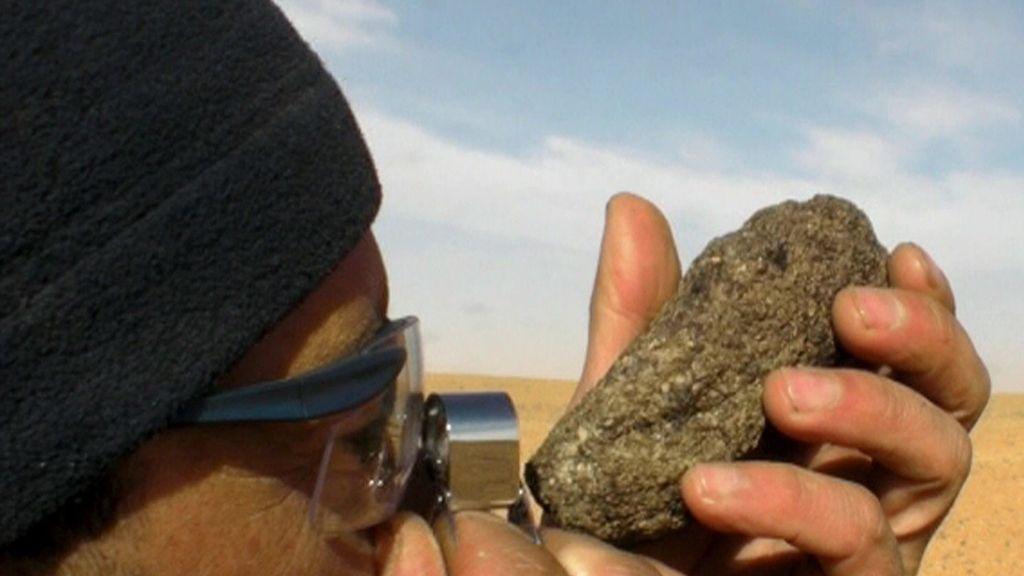Un meteorito hallado por dos españoles revela nueva informaciones sobre Marte
