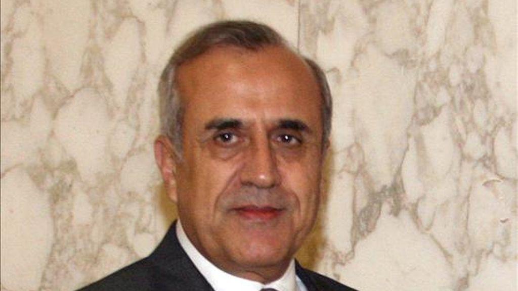 En la imagen, el presidente libanés, Michel Suleiman. EFE/Archivo