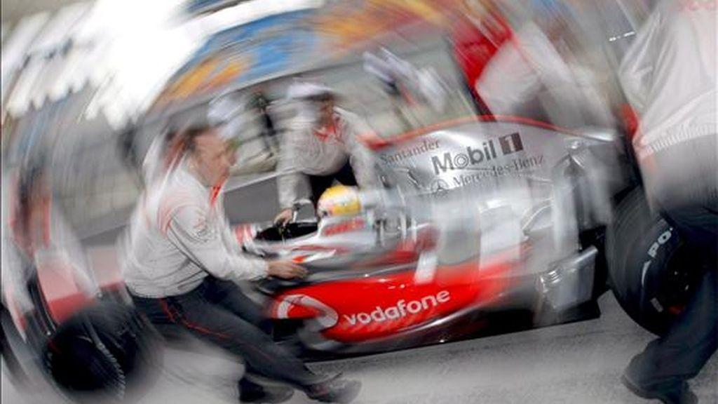McLaren lo ve borroso