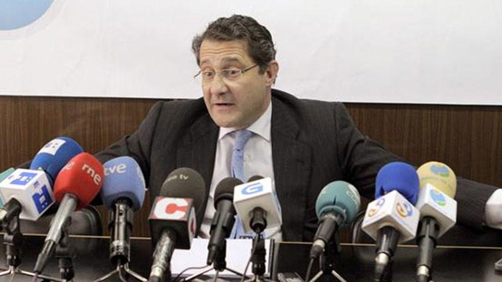 El alcalde de Santiago de Compostela, el popular Gerardo Conde Roa
