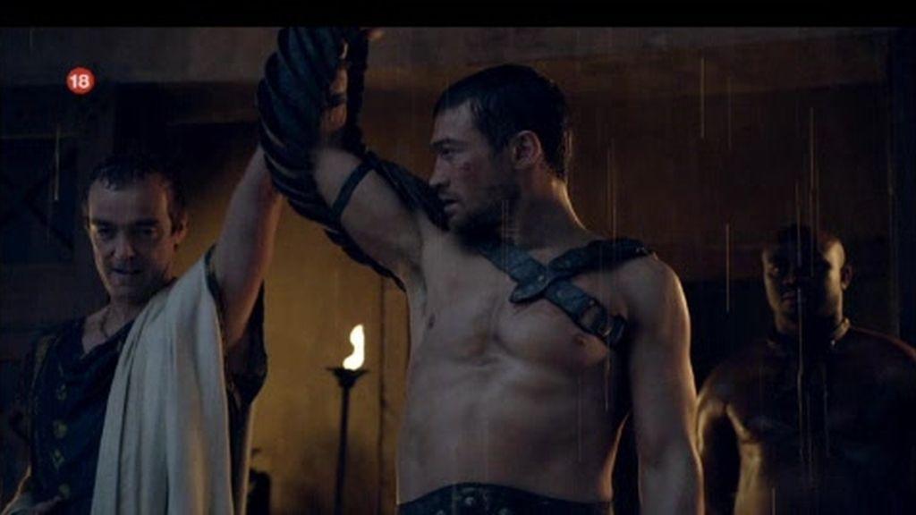Promo Spartacus: Honor, valor, traición