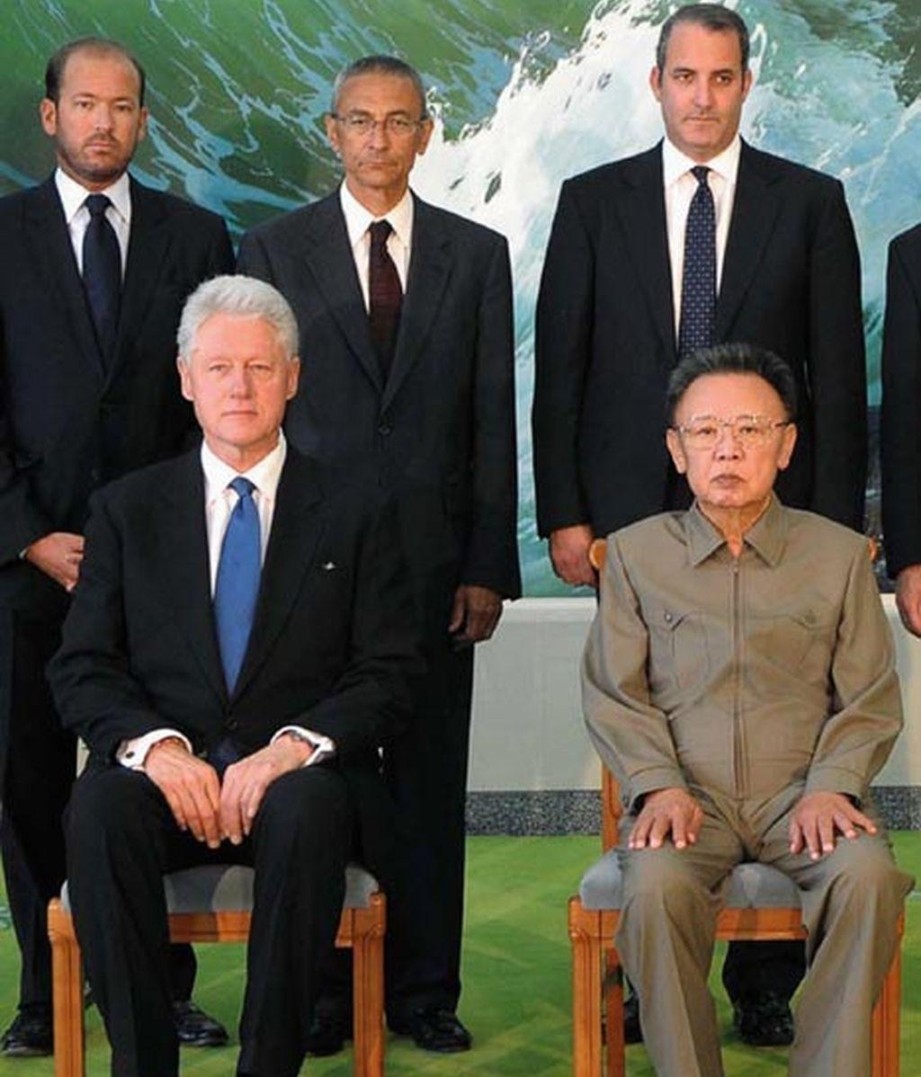 Bill Clinton se reúne con el líder norcoreano Kim Jong-il