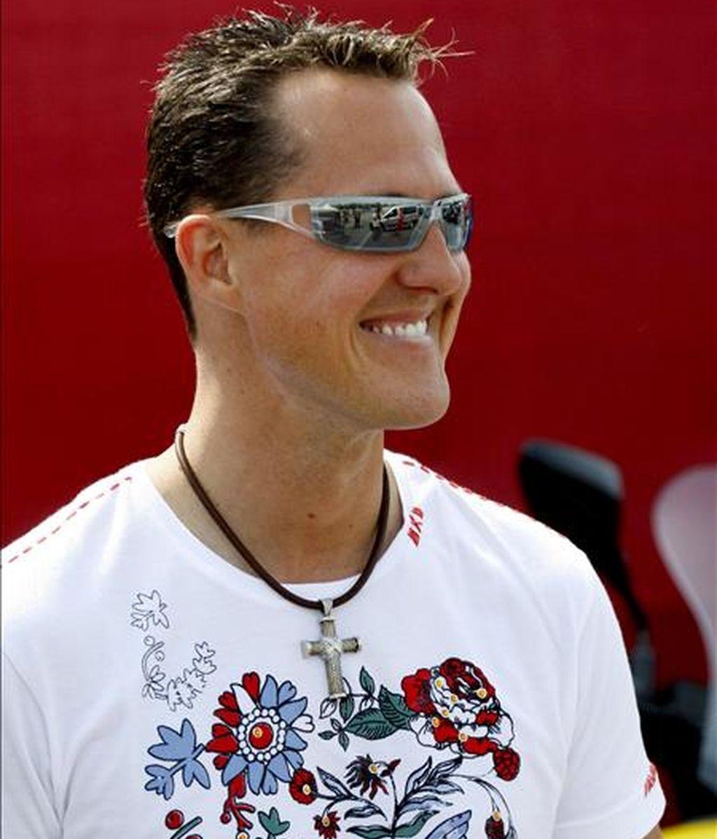 El ex piloto alemán Michael Schumacher, siete veces campeón mundial de Fórmula Uno. EFE/Archivo