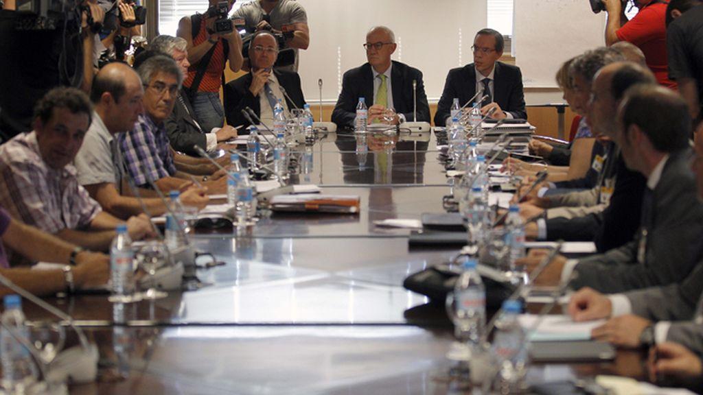 Reunión de la Mesa del Carbón