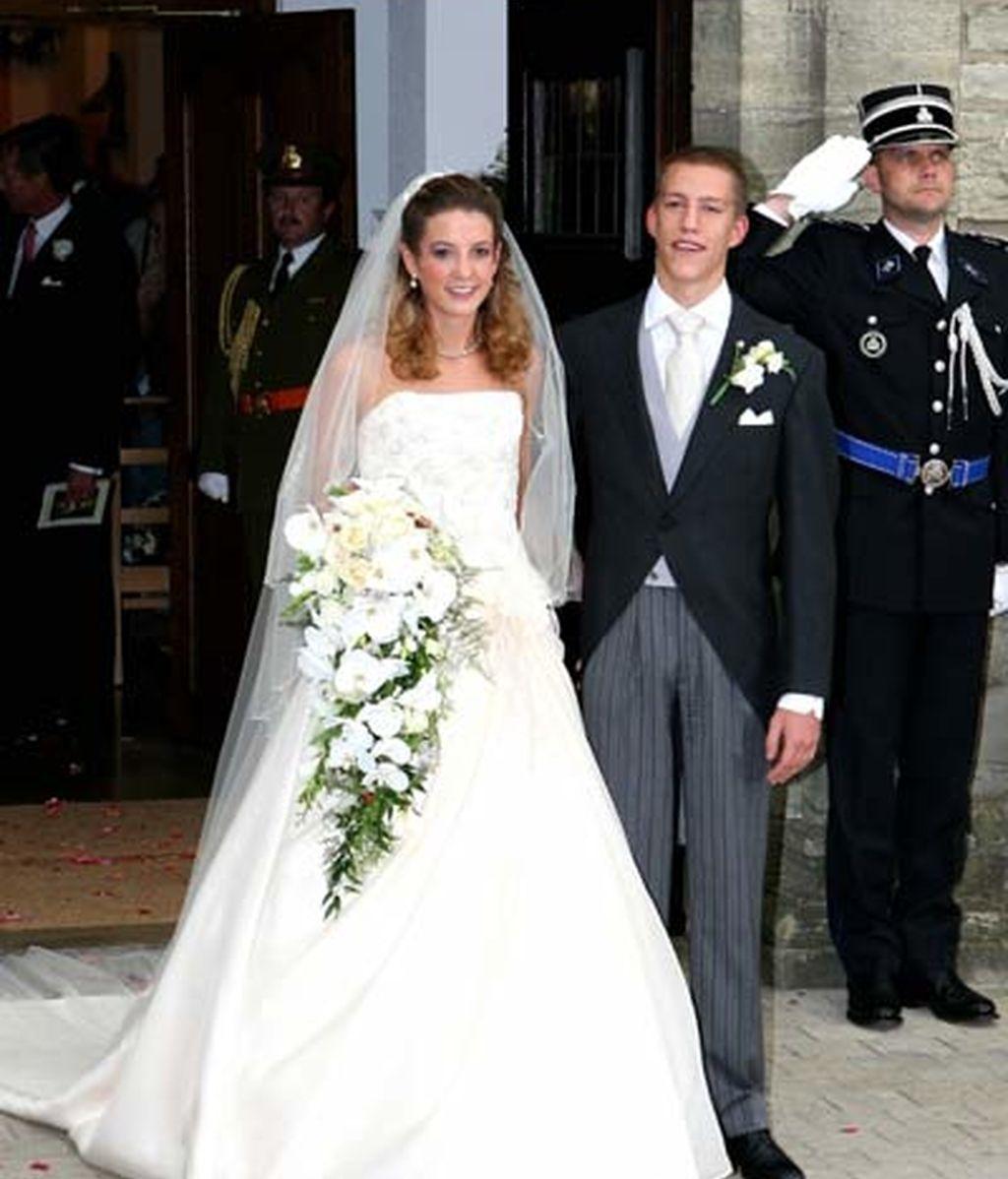 29-09-2006 Jessy Anthony y el príncipe Luis de Luxemburgo