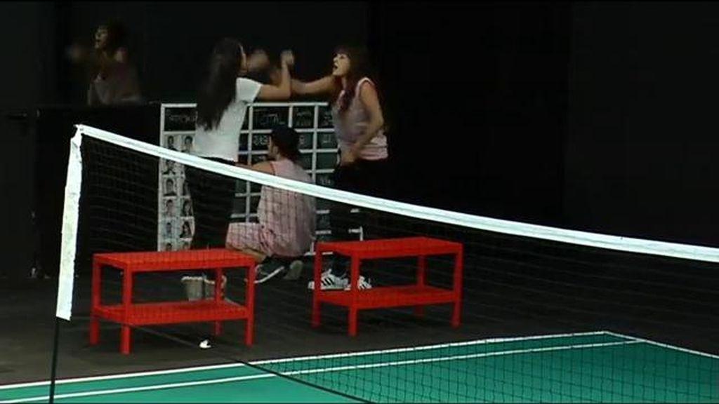 Raquel y Marta protagonizan una acalorada discusión durante la prueba semanal