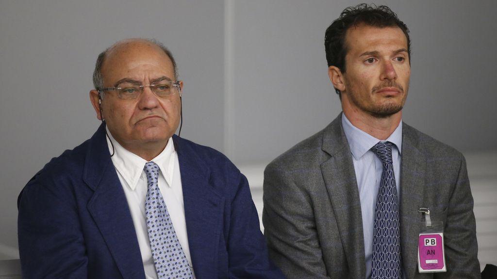 Gerardo Díaz Ferrán, en el banquillo de la Audiencia Nacional