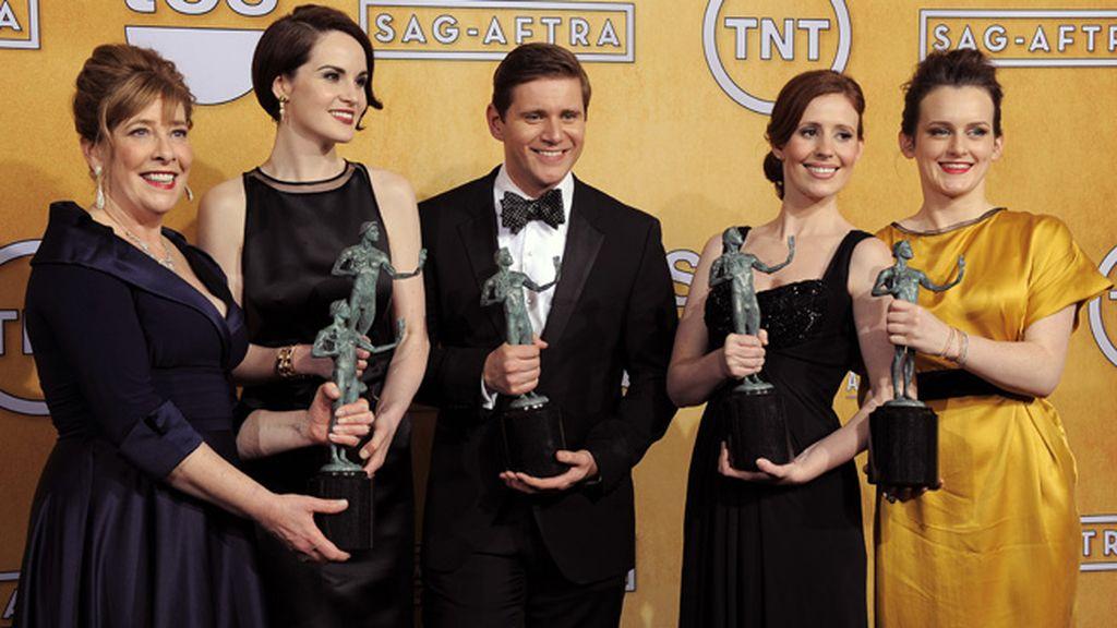 'Downtown Abbey' sigue cosechando premios y recibió el de mejor reparto de drama