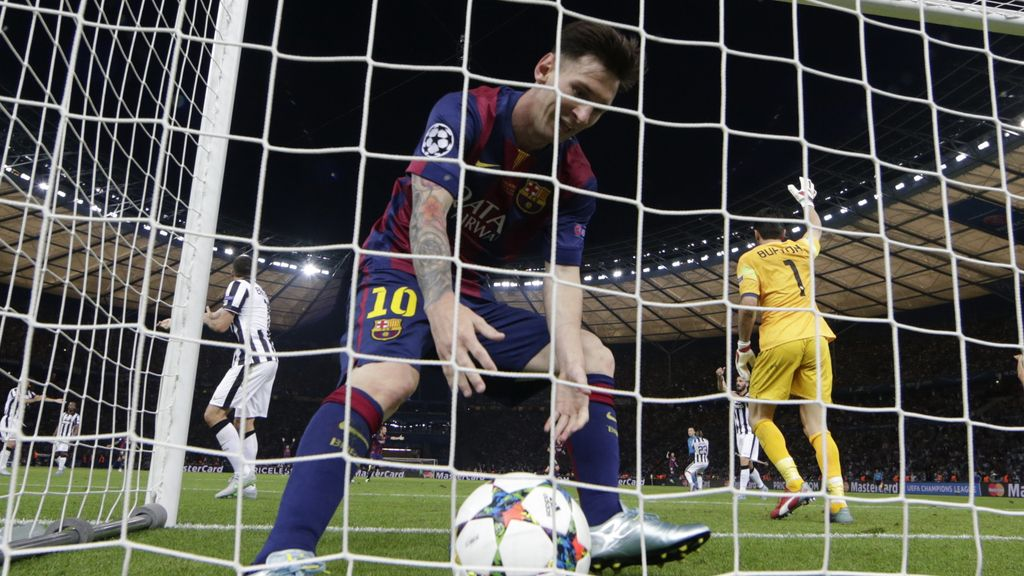 Barça y Juventus protagonizaron una final memorable