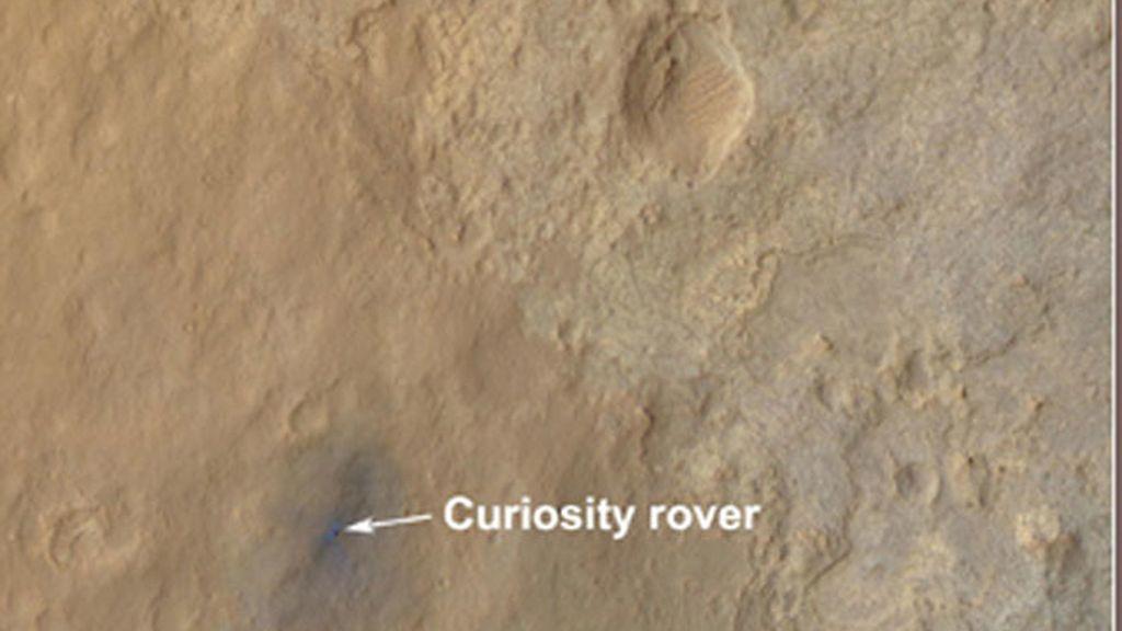 Nuevas imágenes desde el Curiosity