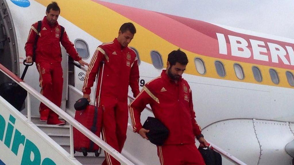 España llega a Eslovaquia