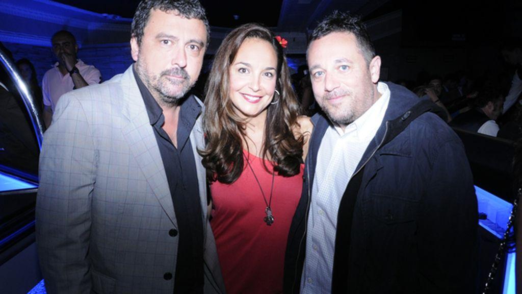 Paco Tous, Raquel Infante y Pepón Nieto