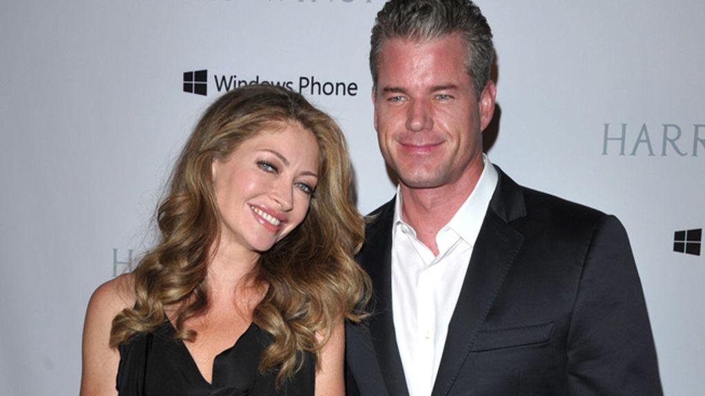 El actor Eric Dane y su mujer, Rebecca Gayheart, son padres de dos niñas