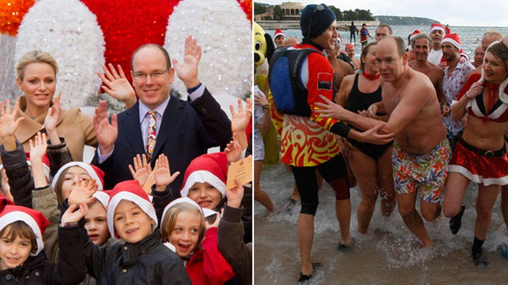 Los famosos nos regalan sus estampas navideñas