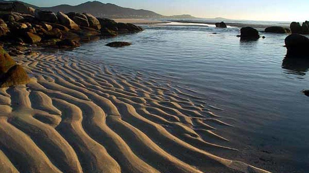 Carnota, Coruña. Uno de los arenales más largos de España, con 7 kiómetros
