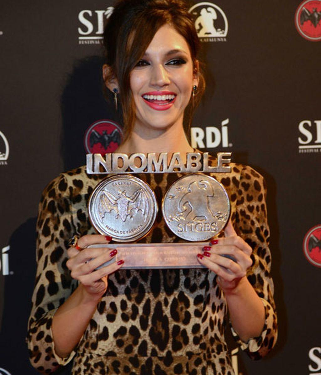 Úrsula Corberó se hizo con el Premio Indomable