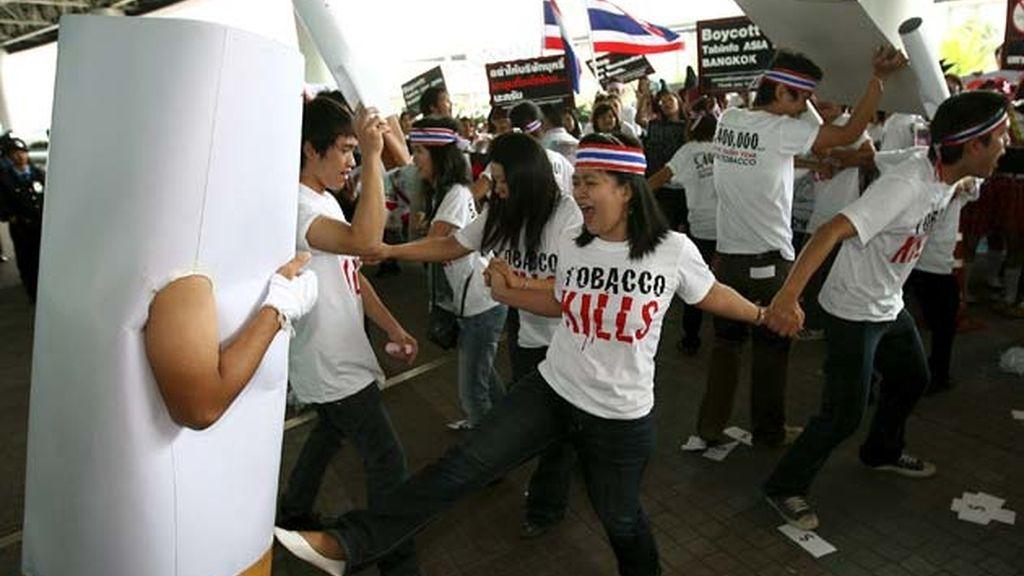 Manifestación antitabaco
