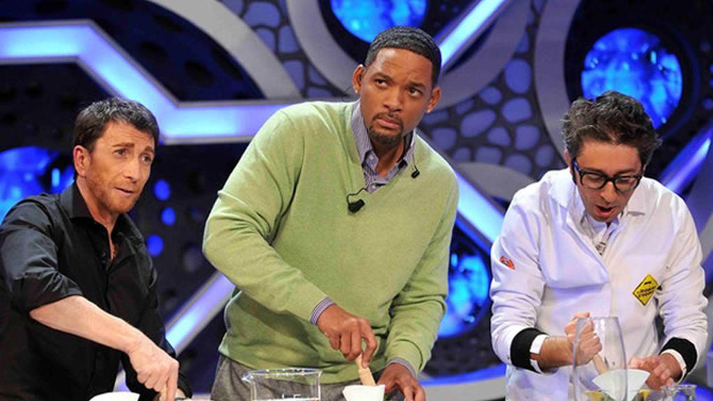 Will Smith y Pablo siguieron los consejos de Flipy en la Ciencia