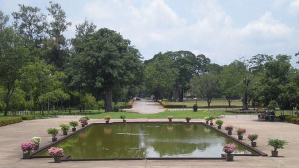 Una vista del Parque histórico de Sukhotai. Foto: RSO.