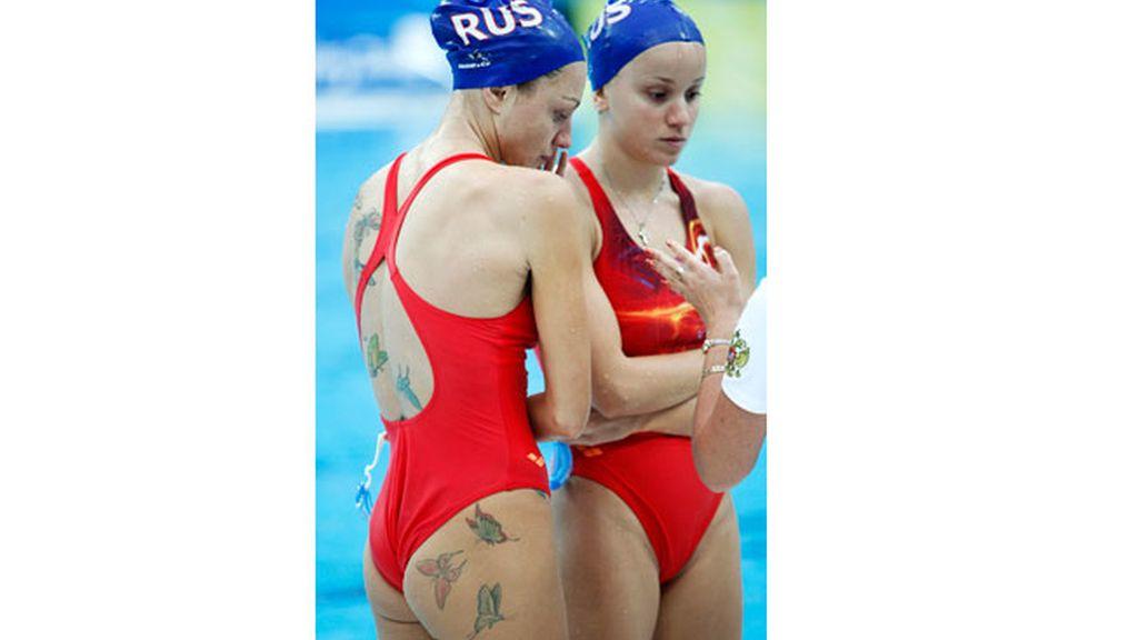 Anastasia Davydova, del equipo ruso
