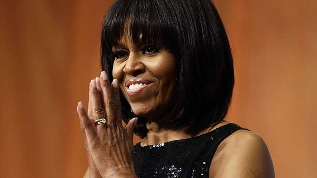 Michelle Obama estrenó un nuevo y favorecedor look