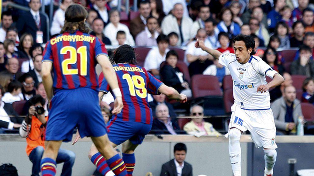 El Barça, una apisonadora de salida