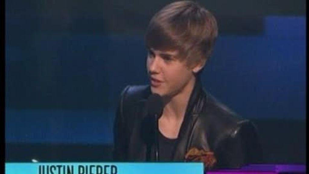 Justin Bieber, indiscutible ganador