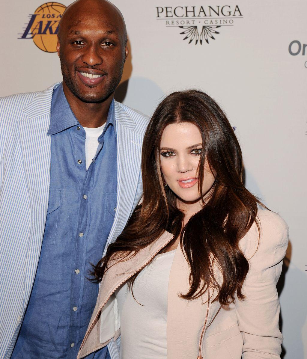 Lamar Odom y Khloe Kardashian