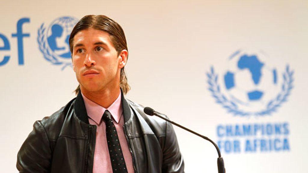 """2010: El defensa, uno de los promotores del partido """"Champions for Africa"""""""