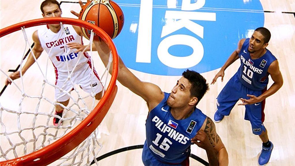 Filipinas Croacia Mundobasket