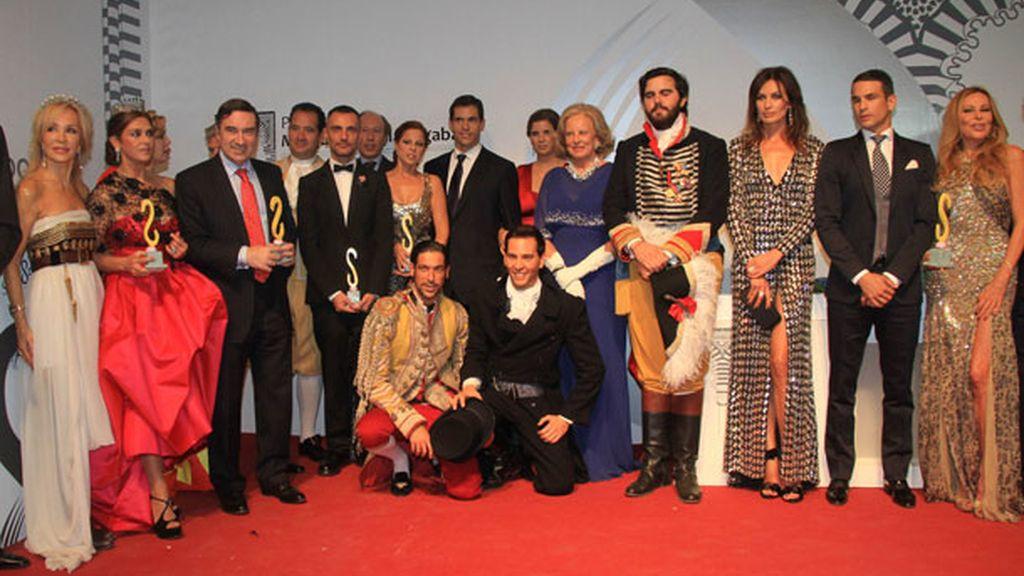 Todos los premiados de los premios de la revista Escaparate