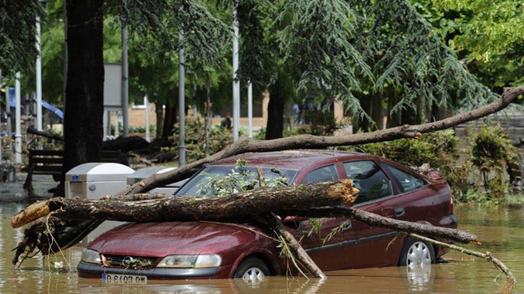 Asturias, Baleares y el Levante en alerta por fuertes lluvias