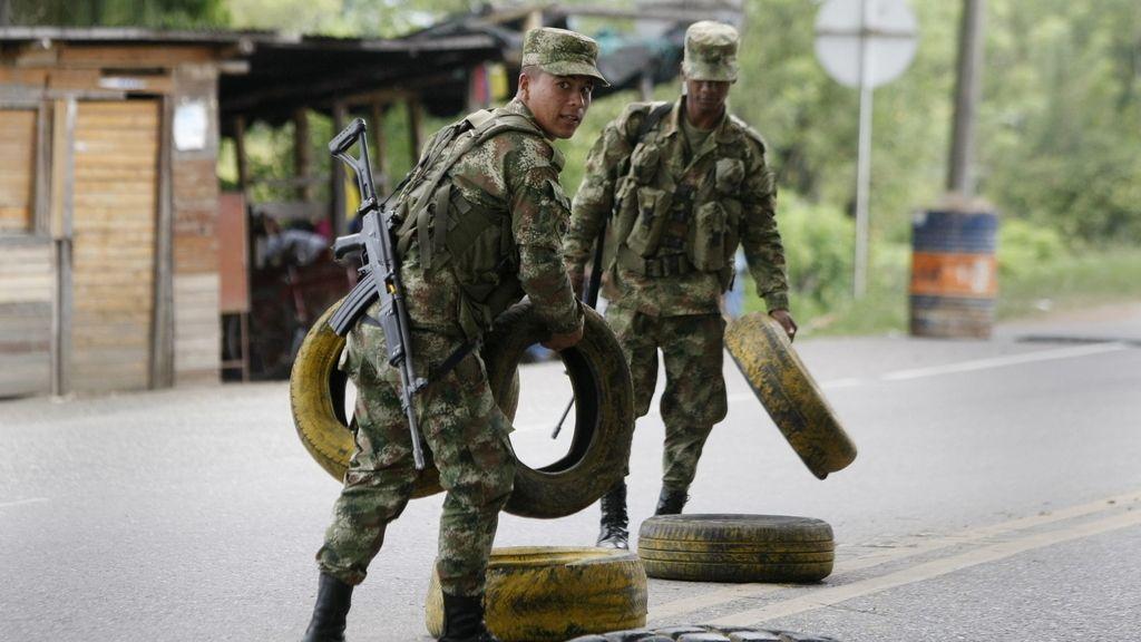 Un policía muerto en un ataque de las FARC en Nariño