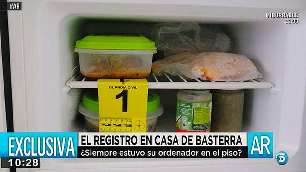 Restos de comida en el frigorífico