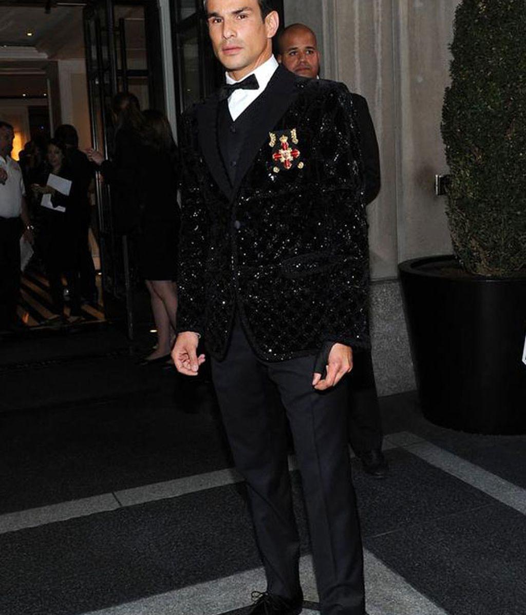 El torero José María Manzanares vestido de Dolce & Gabbana