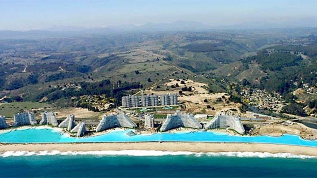 La piscina figura desde 2008 en el libro Guiness de los Récords.