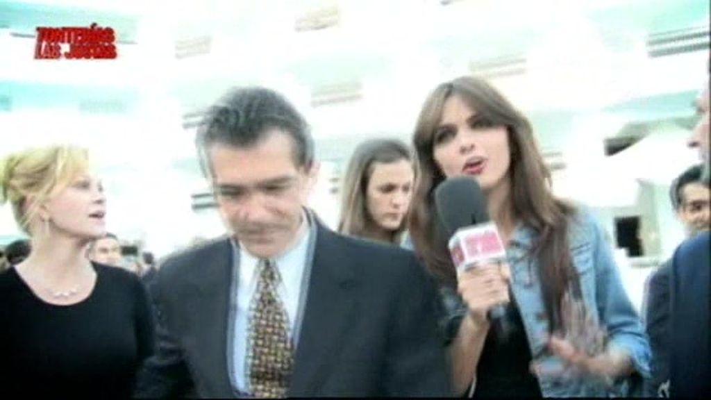 Romina entrevista a  Antonio Banderas
