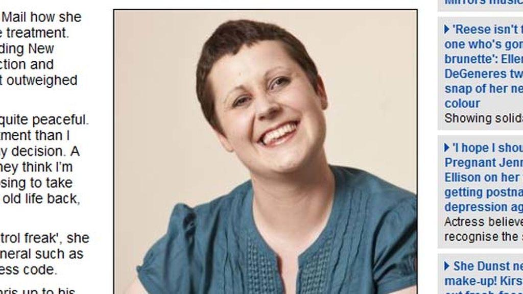 Una enferma terminal de cáncer, twitea desde su lecho de muerte