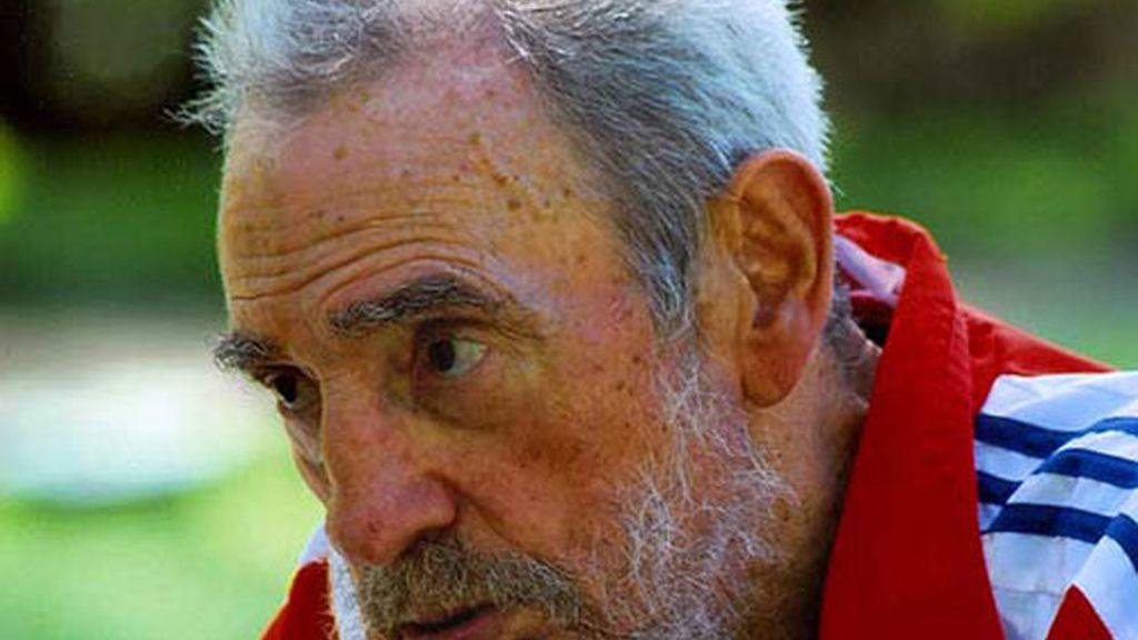 Fidel Castro, en una de sus últimas apariciones públicas, tras dejar el poder.