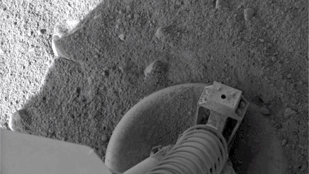 Un pie en Marte