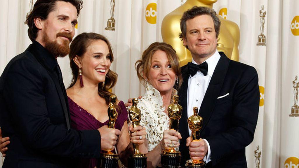 """Hollywood corona a """"El discurso del Rey"""""""