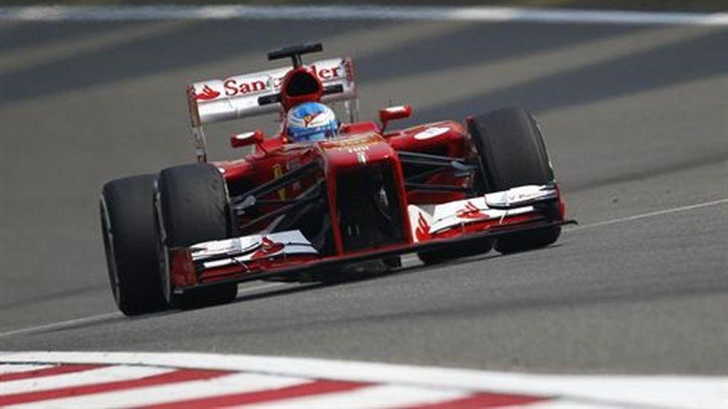 Fernando Alonso, vencedor en Montmeló