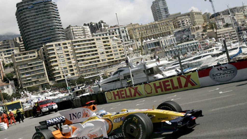 Alonso en el circuito